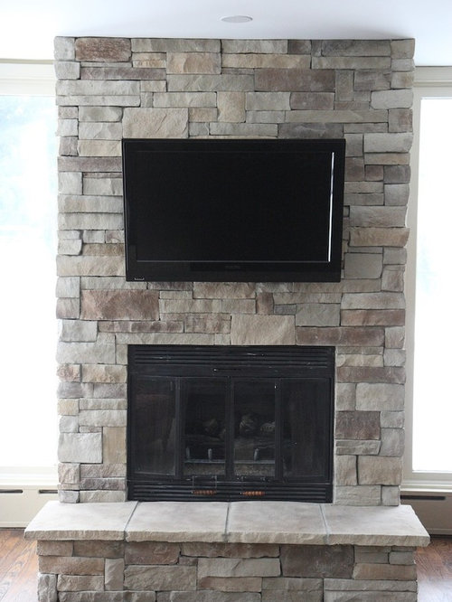 Stone Fireplace Remodel Ideas Pictures Remodel And Decor