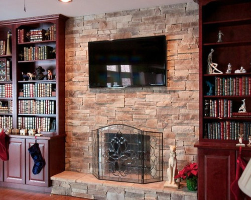Stone Fireplace Remodel Photos - Stone Fireplace Remodel Ideas, Pictures, Remodel And Decor