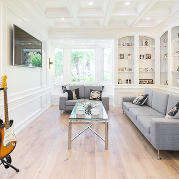 Stone Oak House   Los Angeles, CA   Full Smart Home - Home Theater