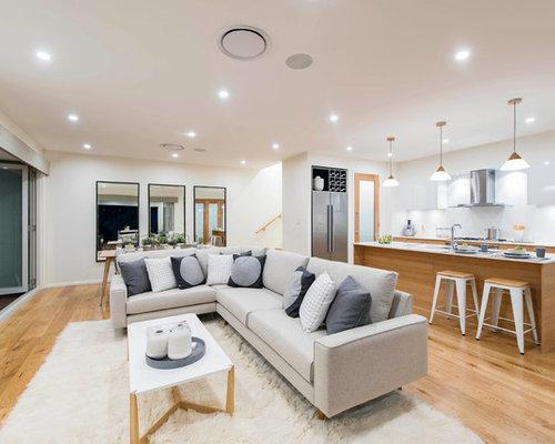 Skandinavische Wohnzimmer In Canberra - Queanbeyan - Ideen, Design