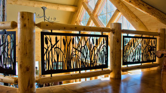 Stoney Lake Cottage Balcony and Stair Rails