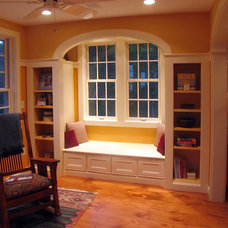Traditional Family Room by Platt Builders