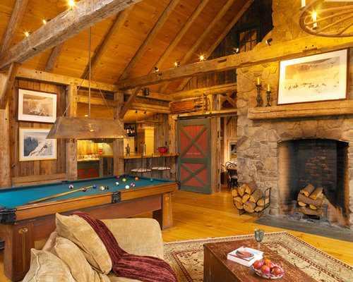 Rustic Man Cave Nation : Rustic man cave houzz