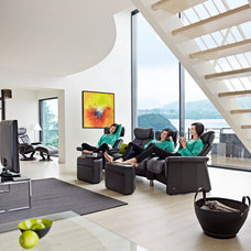 Modern Family Room by Scan Decor