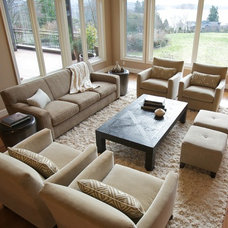 Contemporary Family Room by Interiors