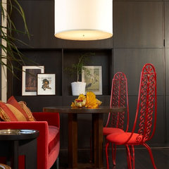 eclectic family room by Danielle Wallinger