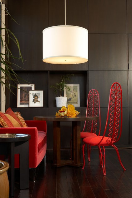 Industrial Family Room by Studio D - Danielle Wallinger