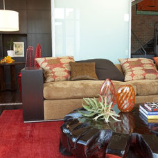 Eclectic Family Room by Studio D - Danielle Wallinger
