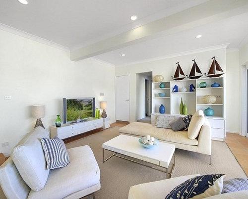 maritime wohnzimmer mit terrakottaboden ideen design. Black Bedroom Furniture Sets. Home Design Ideas