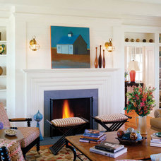 Traditional Family Room by Su Casa Designs
