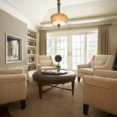 Traditional Living Room by Parkyn Design