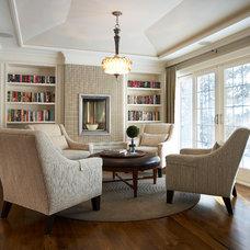 Traditional Family Room by Parkyn Design