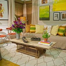 Eclectic Family Room by Keita Turner Design / KT Design Solutions LLC
