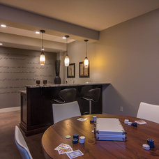 Contemporary Family Room by Dilworth Homes