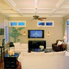Traditional Family Room by Summit Signature Homes, Inc.