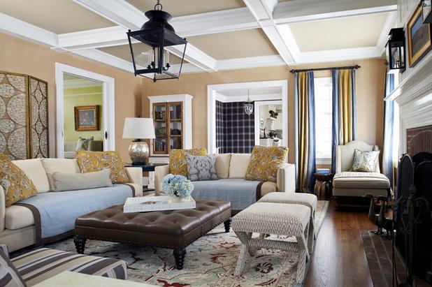 Le case di houzz un mix di bellezza e proporzione in for Case arredate stile classico
