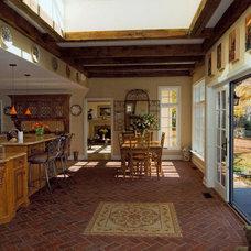 Traditional Family Room by Inglenook Tile Design