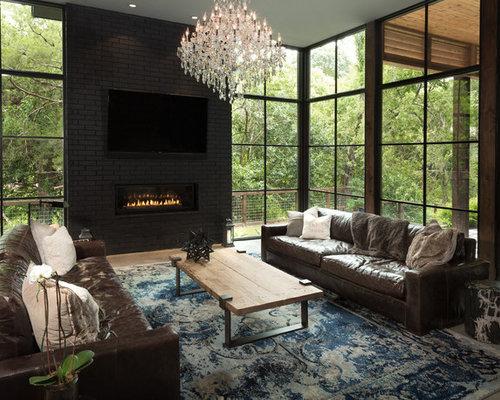AllTime Favorite Contemporary Family Room Ideas Houzz - Contemporary table designs from emil design studio