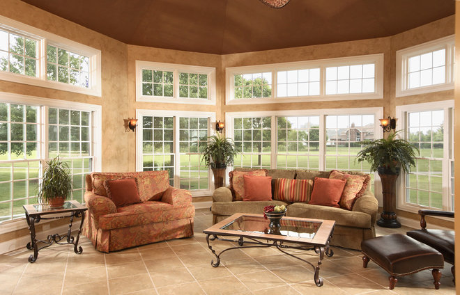Sunroom With Fireplace Ideas