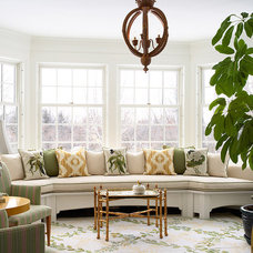 Traditional Family Room by Erotas Building Corporation