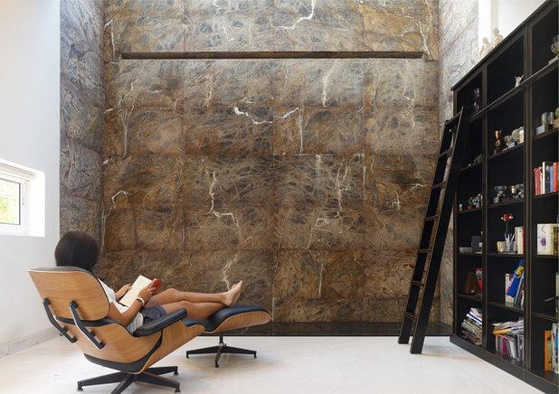Moderne Salle de Séjour by TOPOS Design Studio Pte Ltd
