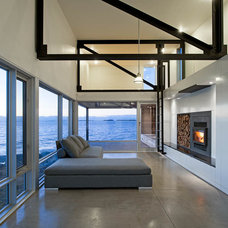 Contemporary Family Room by MacKay-Lyons Sweetapple Architects Limited