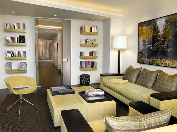 Contemporary Family Room by Turn Collaborative