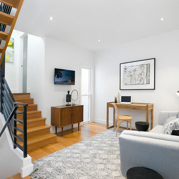 Surprising Space in Reinvented Cottage in Annandale