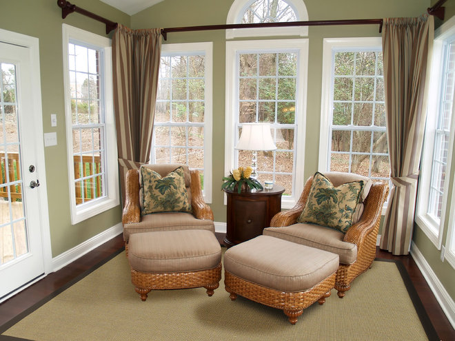 Tropical Family Room by Surya