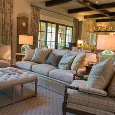 Traditional Family Room by Schilling & Company