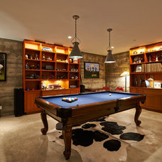 Traditional Family Room by Dixon Construction, Inc.