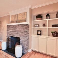 Contemporary Family Room by TTM Development Company