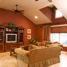 traditional family room by Robert Kocis