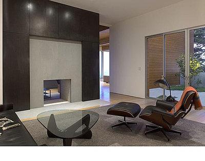 Modern Family Room by Ogrydziak/Prillinger Architects