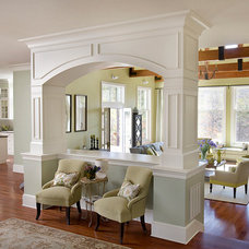 Traditional Family Room by SMOOK Architecture & Urban Design, Inc.