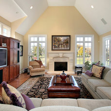 Traditional Family Room by Wanland Building Company, Inc.