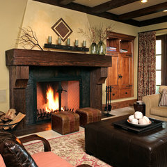 traditional family room by Gary J Ahern, AIA - Focal Point Design