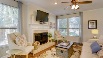 Tangle Brush Occupied Home Staging