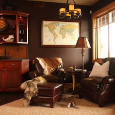 Eclectic Family Room by TANNA BY DESIGN