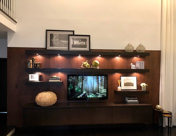 Tans Wall Unit Design