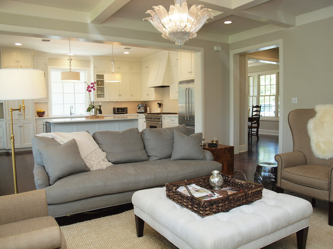 Traditional Family Room by Roost Custom Homes, LLC