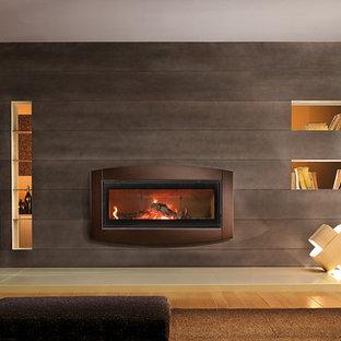 TCW120 Indoor wood burning fireplace