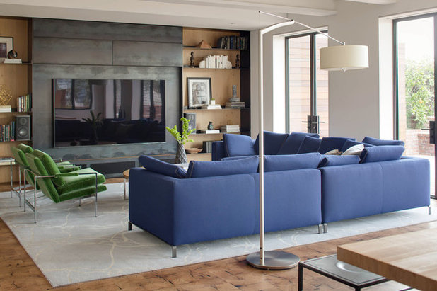 Contemporary Family Room by Niche Interiors