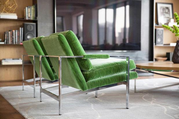 Consigli di stile per arredare con divani e poltrone di for Divani velluto moderno