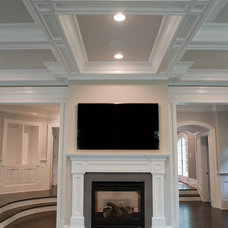 Traditional Family Room by Elayan Construction Services