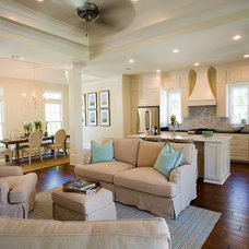Traditional Family Room by Hollingsworth Design