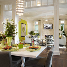 Contemporary Dining Room by Alvarez Homes