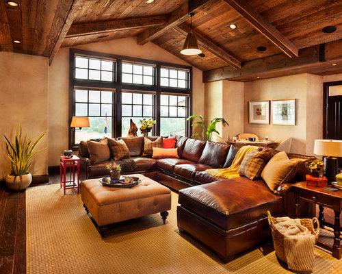 Cognac Leather Sofa Houzz