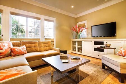 Contemporary Family Room by James Kennedy