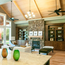 Traditional Family Room by Alan Mascord Design Associates Inc